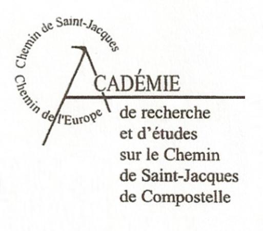 l'Académie de recherche et d'études sur le Chemin de Saint-Jacques